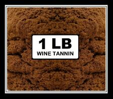 WINE TANNIN 1lb FACTORY PACK CROSBY & BAKER BSG BRAND NAME FOR HOME WINEMAKING