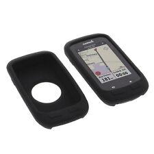 Tasche für Garmin Edge 1000 Schutz Hülle Silikon Gummi Case GPS Computer Schwarz
