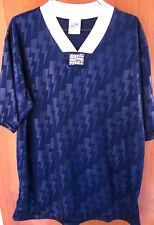 UNION JACKS soccer jersey lrg embroidery futbol UK flag V-neck patterned shirt