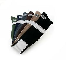 Men's Dress Socks Mercerized Cotton Blend  Black, Navy, Tan, Brown, Olive, Gray