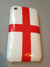 PLASTIC BACK CASE COVER FOR APPLE iPHONE 3 3GS - ENGLAND GEORGE CROSS EURO 2016