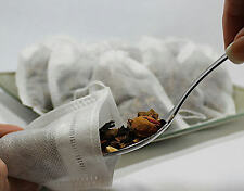 """Empty Woven Style Tea Bags 3.14"""" x 3.93"""" (80 x 100 mm) 200 Pack"""