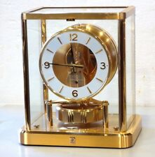 GORGEOUS 1980's JAEGER LECOULTRE 540 ATMOS CLOCK S-616,000 W/BOX SERVICE WORKING