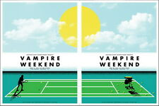 """MX03845 Vampire Weekend - American Rock Band From Music 21""""x14"""" Poster"""