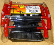 HTX80MS Bondhus Graduated T Handle 8 piece Hex Key Allen Set With Stand 13389