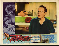 TORMENTED original 1960 HORROR lobby card movie poster RICHARD CARLSON