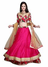 Bollywood Indian Wedding Semi Stitched Bridal Lehenga Choli Set SAREE EDH