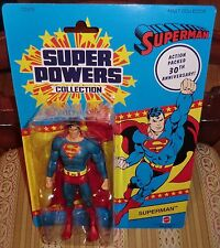 """DC 30TH ANNIVERSARY SUPER POWERS COLLECTION SUPERMAN  MATTY EXCLUSIVE  6"""""""