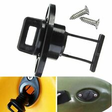 1 Pcs Universal Canoe Kayak Boat Thread Drain Plugs Kit & 2 Screws Accessories