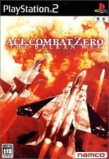 Ace Combat Zero The Belkan War PS2 namco Sony Playstation 2 Japan USED