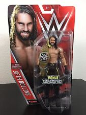 """SETH ROLLINS WWE Series 60 *NEW* w/ CHASE CHAMPIONSHIP TITLE BELT Variant  6"""""""