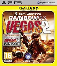 TOM CLANCY RAINBOW SIX VEGAS 2 PLAT PS3
