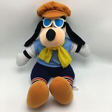 "RARE Golfing Goofy Vtg 1987 Disneyland Disney World 17"" Plush Sunglasses Beanie"