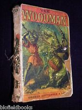 The Woodman: G P R James c1880's - RARE Yellowback Novel - An Historical Romance