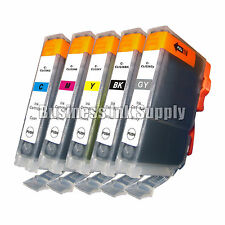 5 COLOR CLI-226 CLI226 CLI 226 CMY GY Ink Canon Pixma MG8120