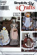 Simplicity 8462 Cow and Duck Vacumn  & Sewing Machine Cover Pattern Uncut