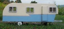 Dollhouse Vintage Travel Trailer Kit