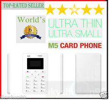 AIEK M5: Slimmest, Lightest, Lowest Radiation Slim Credit Card Size Phone Mobile