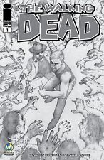 Walking Dead Wizard World ComiCon San Jose Excl Sketch B/W Cover Colleen Doran