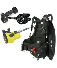 Zeagle Stiletto BC/BCD & Flathead LT Regulator Scuba Diving Package w/ Octo-Z LG