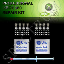 PROFESSIONAL XBOX 360 RROD SILVER REPAIR KIT XCLAMP E74.