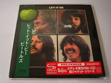 "BEATLES ""Let It Be"" Japan mini LP SHM CD 1st Press"