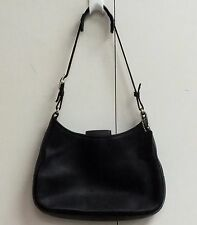 Coach Shoulder Bag Legacy Black Glove Leather 8319 Hobo Small Purse Classic