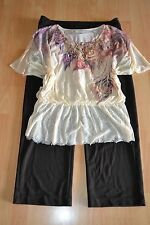 WOMENS PLUS SIZE CLOTHING Lot Of 3 Sz 14/16W Pants Dressbarn Top/Blouse Necklace