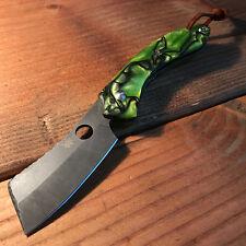 Spyderco Roc CUSTOM Pocket Knife - Toxic Kirinite, Spine work, Stonewashed