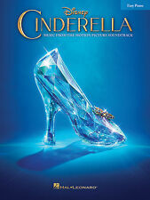 Cinderella Sheet Music from Movie Soundtrack Easy Piano SongBook NEW 000146948