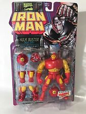 Marvel Iron Man Hulkbuster Figure Power Removable Armor Toybiz 1995 90s New Vtg