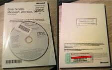 Windows 98 Second Edition Handbuch mit Product Key