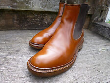 ALFRED SARGENT CHELSEA BOOTS –  BROWN / TAN – UK 7 – VERY GOOD CONDITION