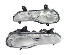 1Pair Clear Front Driving Fog Lights/Lamps for Ford Escape 2013-2015