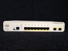 CISCO WS-C2960CG-8TC-L   Catalyst 2960C Switch 8 GE, 2 x Dual Uplink LAN Base