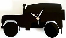 LAND ROVER CLOCK SILHOUETTE WALL MOUNTED