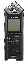 TASCAM DR-22WL Portable Recorder with Wi-Fi Refurbished