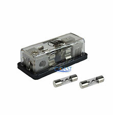 Car Distribution Block (3) 2/4 GA In & (2) 4/8 GA Out + Free 2X 30A AGU Fuses