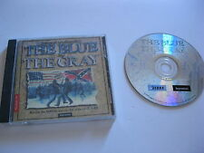 THE BLUE AND THE GRAY PC GAME CD-ROM SIERRA 1998