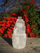 Selenite Tower Morocco / Crystal Cluster Display Specimen
