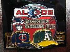 2006 AL Division Series Dueling Pin - A's vs. Twins, Ver. 2