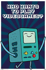 Adventure Time BMO Beemo POSTER 61x91cm NEW * Who Wants To Play Video Games