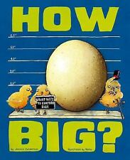 How Big?: Wacky Ways to Compare Size (Wacky Comparisons)-ExLibrary