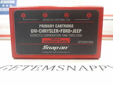 Snap On 2000 Domestic Primary Cartridge MT2500 MTG Scanners Jeep GM Ford Chry