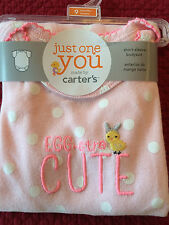 NEW Girls Clothes Carters Easter Short Sleeve Bodysuit 6 9 Month Egg-stra CUTE