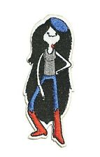 "3.5"" Adventure Time Marceline Embroided Logo Iron On Patch"