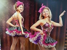 IN STOCK Sassy Showgirl Cabaret Modern Character Dance Costume Adult Medium