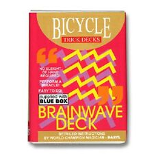 Magic Trick. The Brainwave Deck. Dynamo. Bicycle Cards. (Invisible Deck 2) Blue