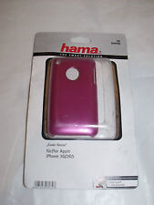 Hama, 104540 Glossy Cover Pink Apple  iPhone 3G 3GS