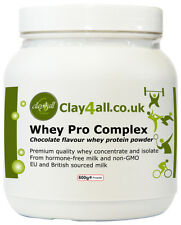 Whey Pro Complex (chocolate flavour) – From Whey protein concentrate and isolate